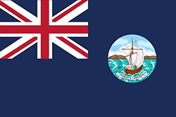 イギリス占領時代後期の旗(1903~1967年)