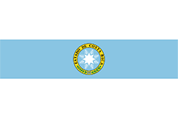 コスタリカ国旗の変遷1840年4月21日〜1842年4月20日