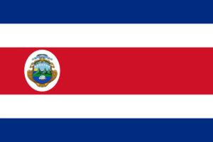 コスタリカ国旗の変遷1964〜1998