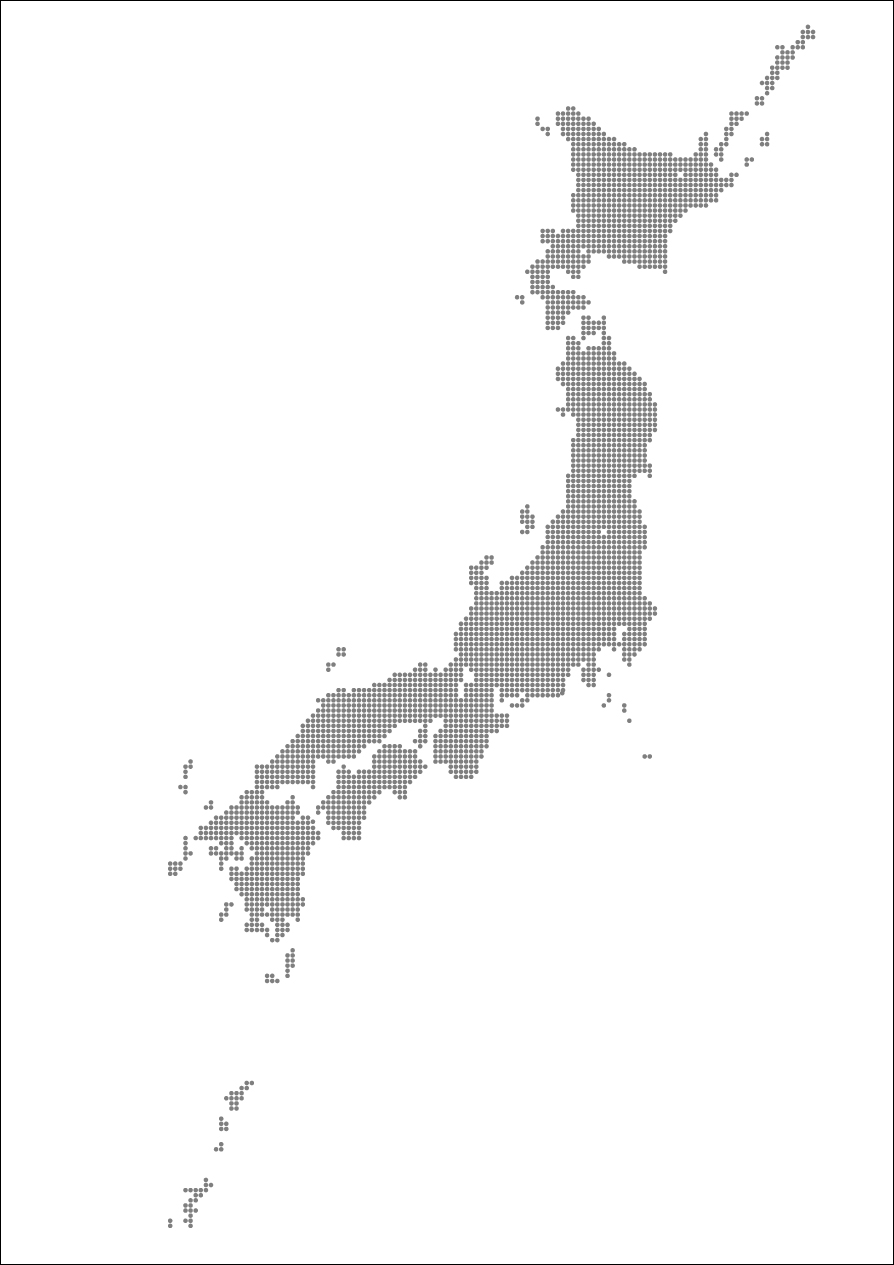 無料白地図日本 マップ : 日本地図ダウンロードフリー : 日本