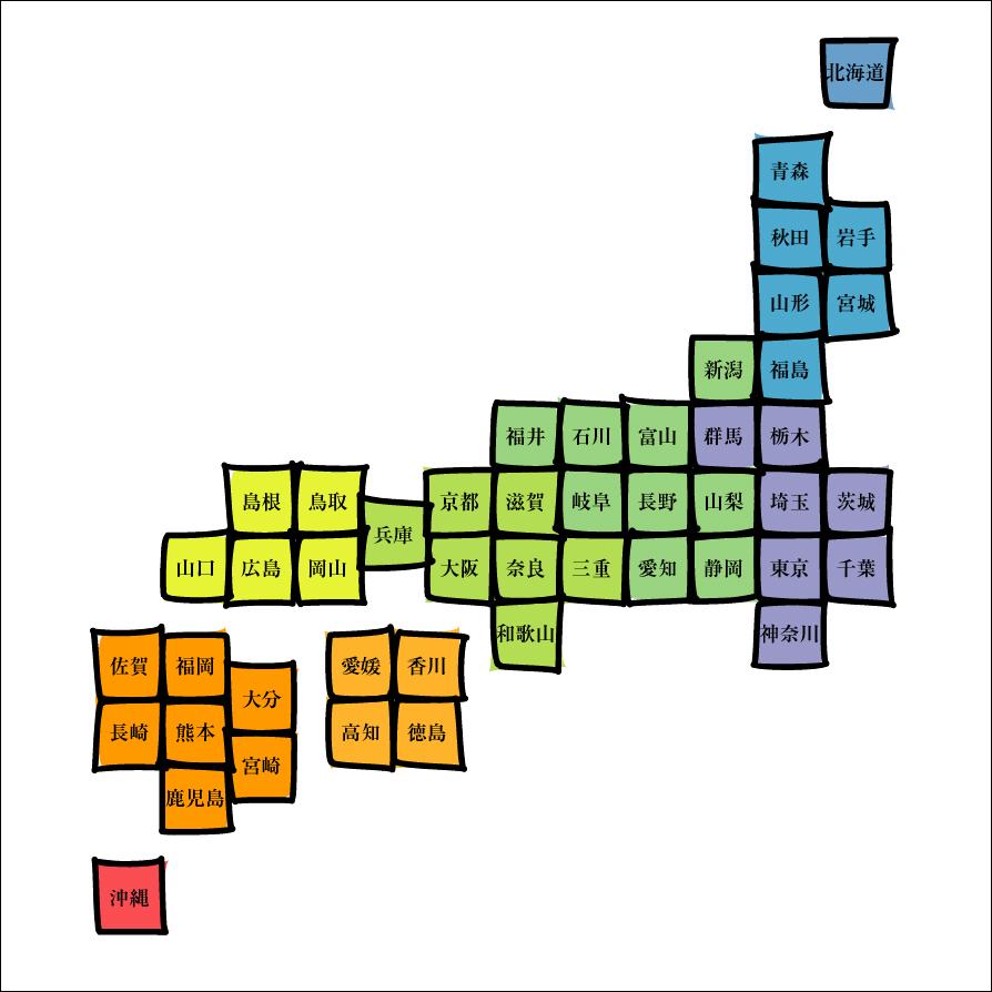 日本地図の画像 p1_7