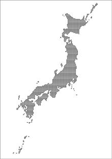 デザイン日本地図