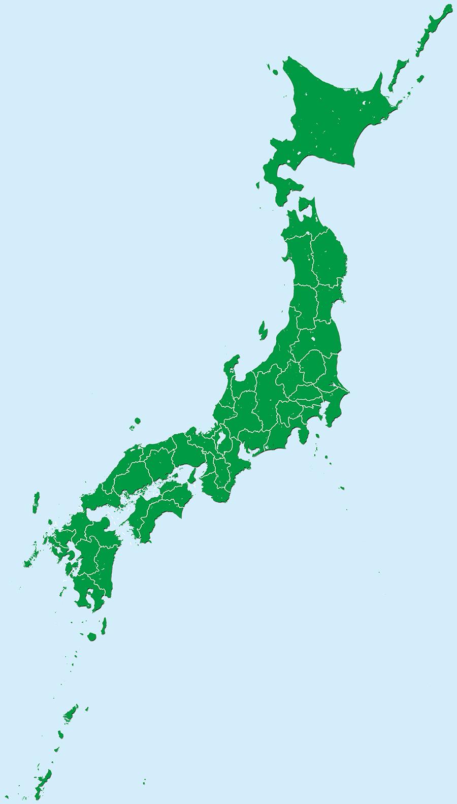 都道府県別地図