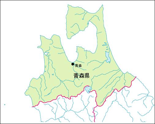 青森市入り地図