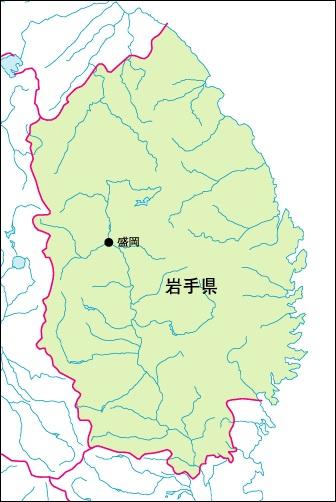 盛岡市入り地図