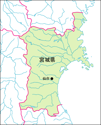 仙台市入り地図