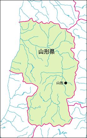 山形市入り地図