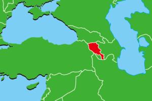 アルメニア地図