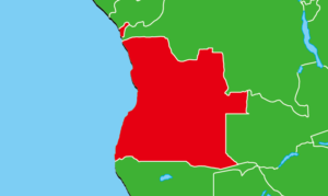 アンゴラ地図