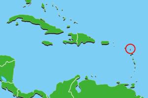 アンティグア・バーブーダ地図