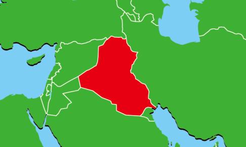 イラクの地図