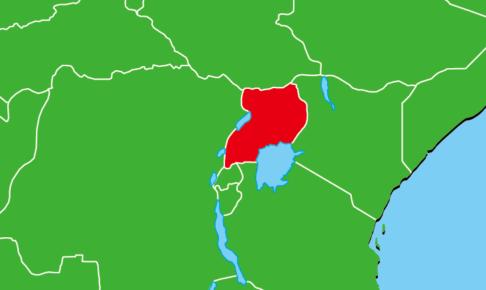 ウガンダ地図
