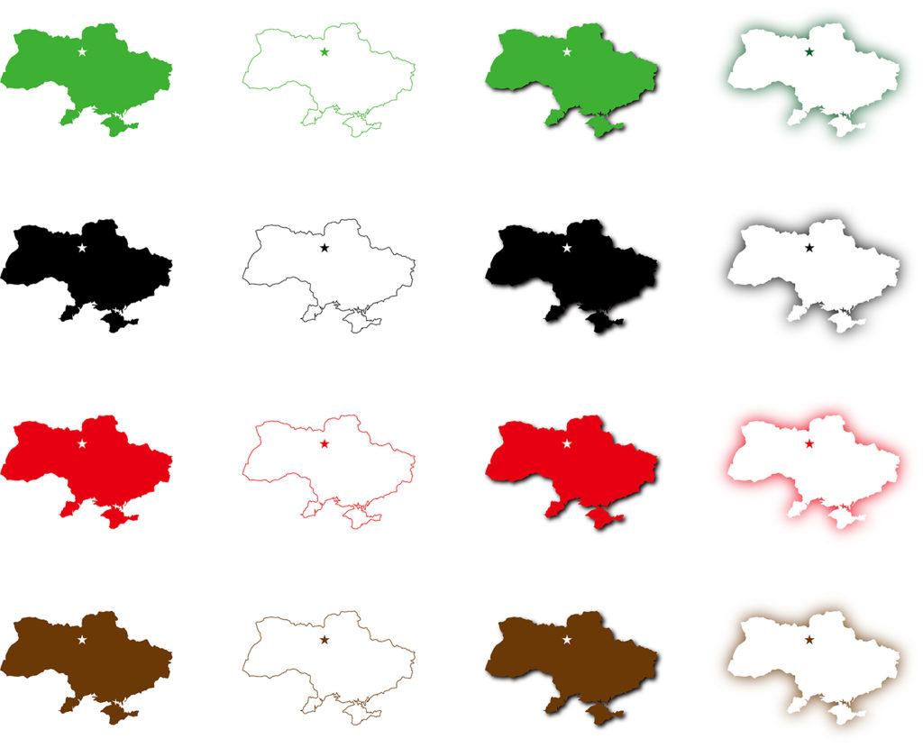 ウクライナ地図