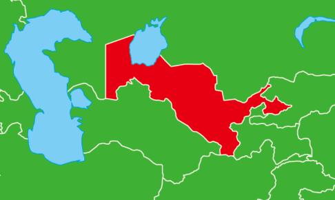 ウズベキスタン地図