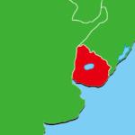 ウルグアイ地図