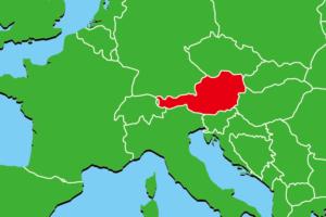 オーストリア地図