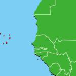 カーボベルデ地図