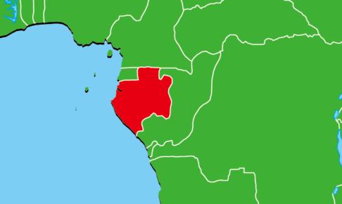 ガボン地図