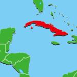 キューバ地図