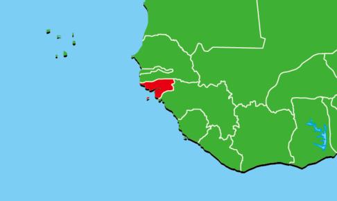 ギニアビサウ地図