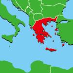 ギリシャ地図