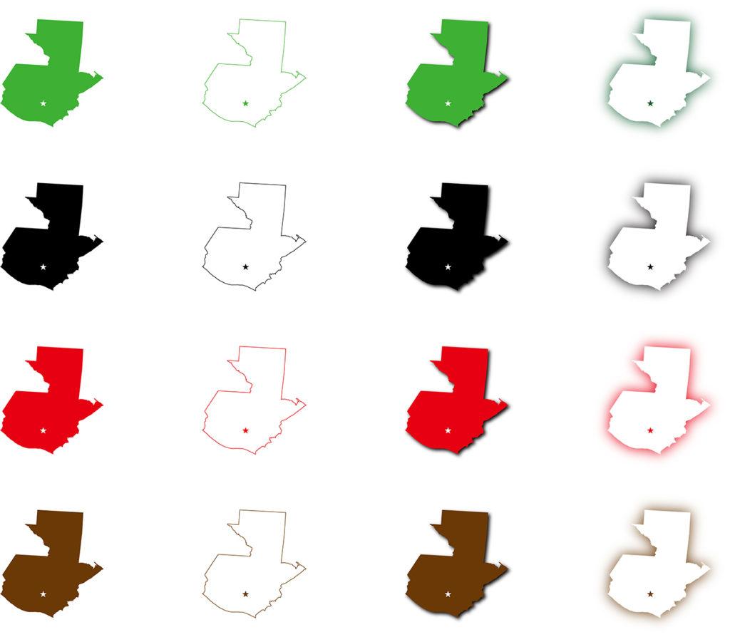 グアテマラ地図