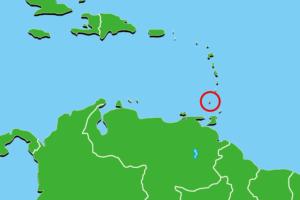 グレナダ地図
