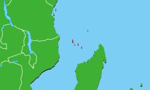 コモロ地図