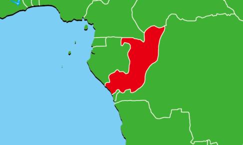 コンゴ共和国地図