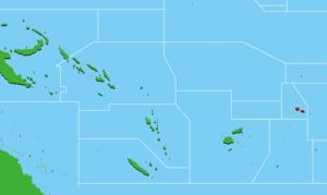 サモア地図