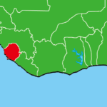 シエラレオネ地図