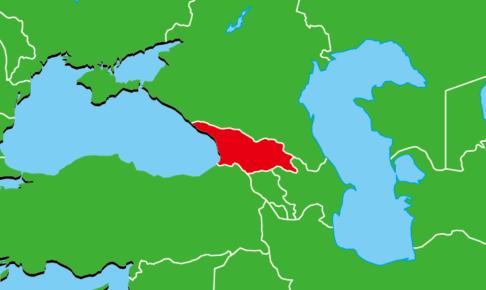 ジョージア地図