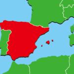 スペイン地図