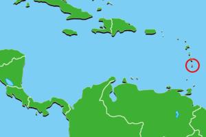 セントルシア地図