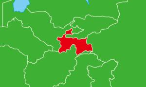 タジキスタン地図