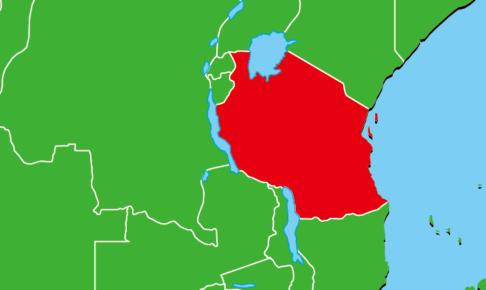 タンザニア地図