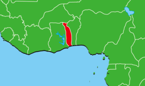 トーゴ地図
