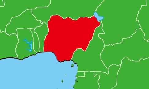 ナイジェリア地図