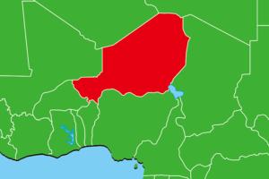 ニジェール地図