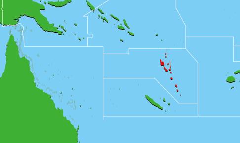 バヌアツ地図