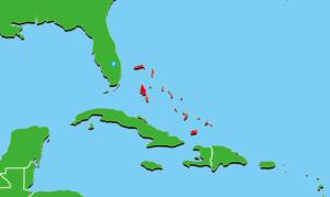 バハマ地図
