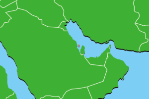 バーレーンの地図