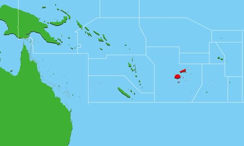 フィジー地図