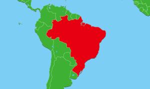 ブラジル地図