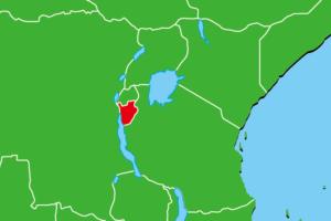 ブルンジ地図