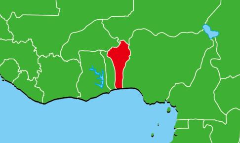 ベナン地図