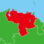 ベネズエラ地図