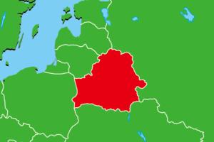 ベラルーシ地図