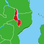 マラウイ地図