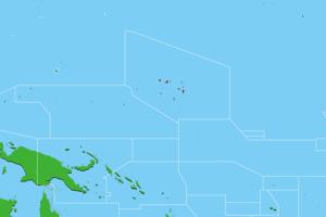 マーシャル諸島地図